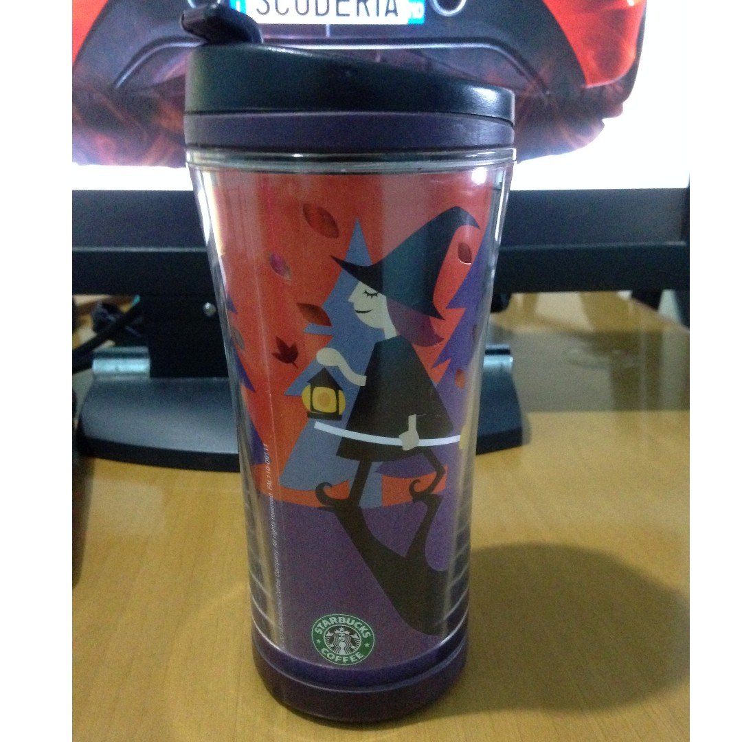 starbucks 8oz halloween tumbler rare(old logo), everything else