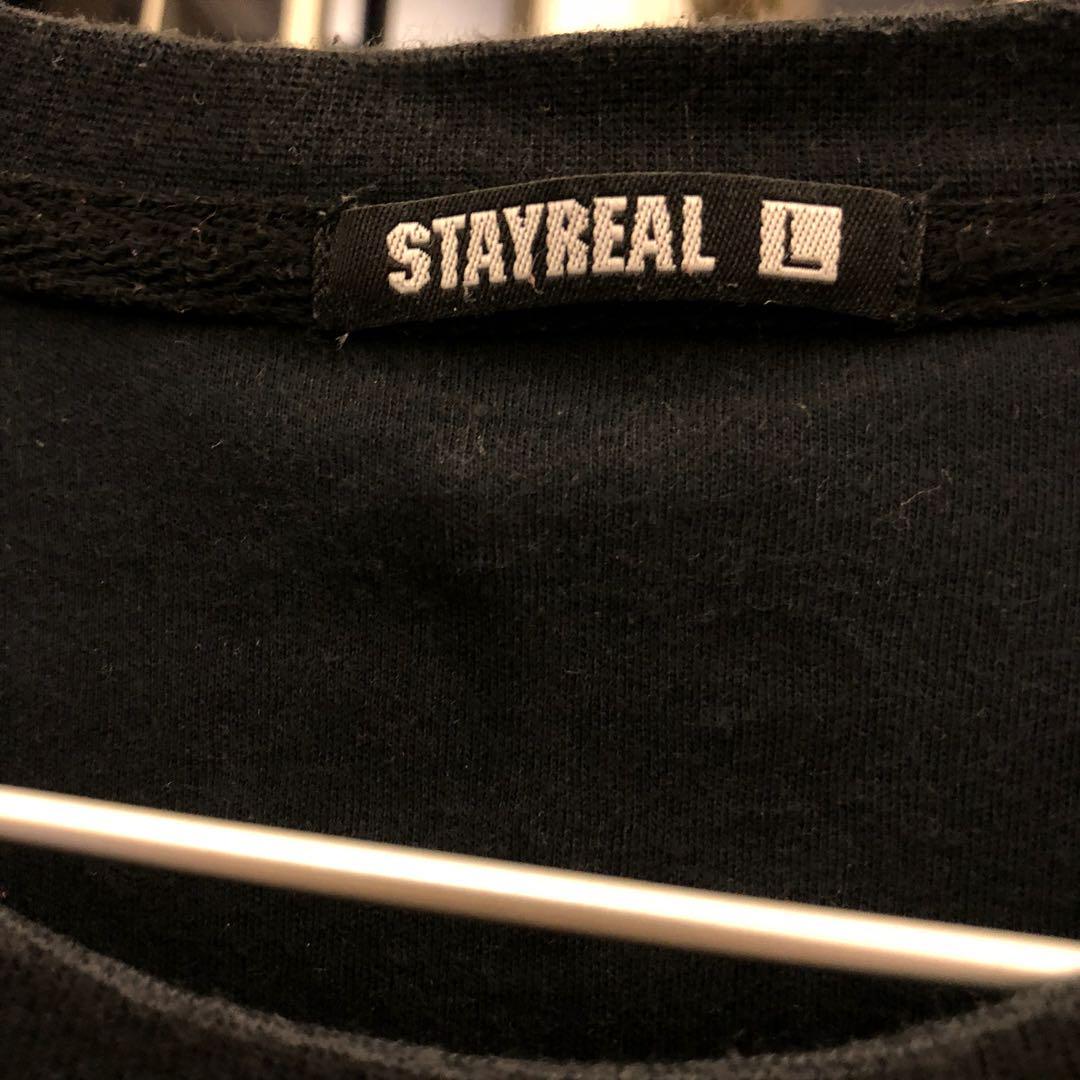 Stayreal x 多啦a夢 tee