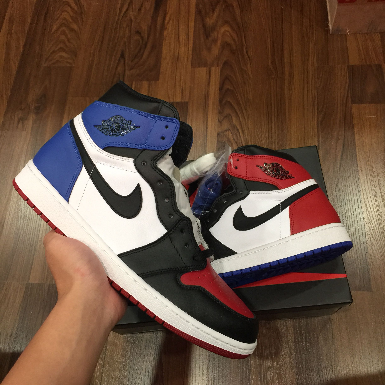 "f906b1766b63 STEAL! BNIB US 12 Nike Air Jordan 1 "" Top 3 """