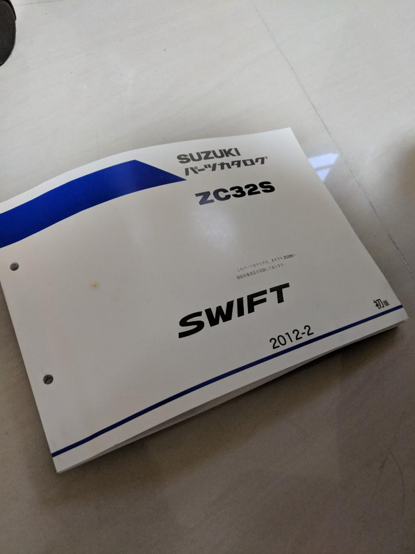 Suzuki Swift Sport JDM Parts Catalogue, Car Accessories