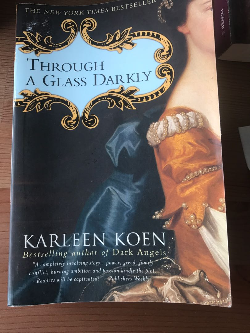 Through a glass darkly by karleen koen books stationery books on photo photo photo photo fandeluxe Images