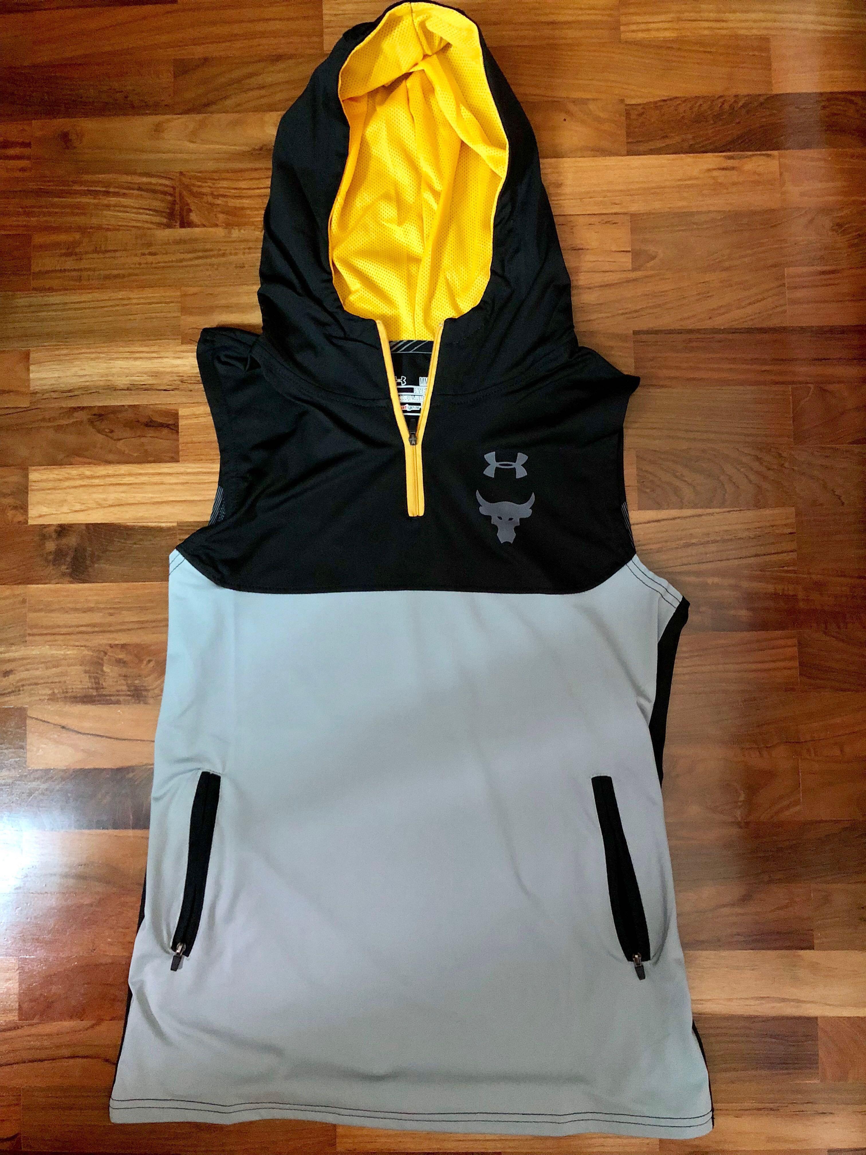 Underarmour PROJECT ROCK sleeveless hoodie 441f3fcd3536