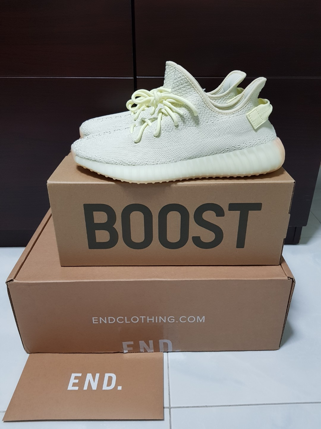 e8670f7ec US10.5 UK10 Adidas Yeezy Boost 350 v2 Butter