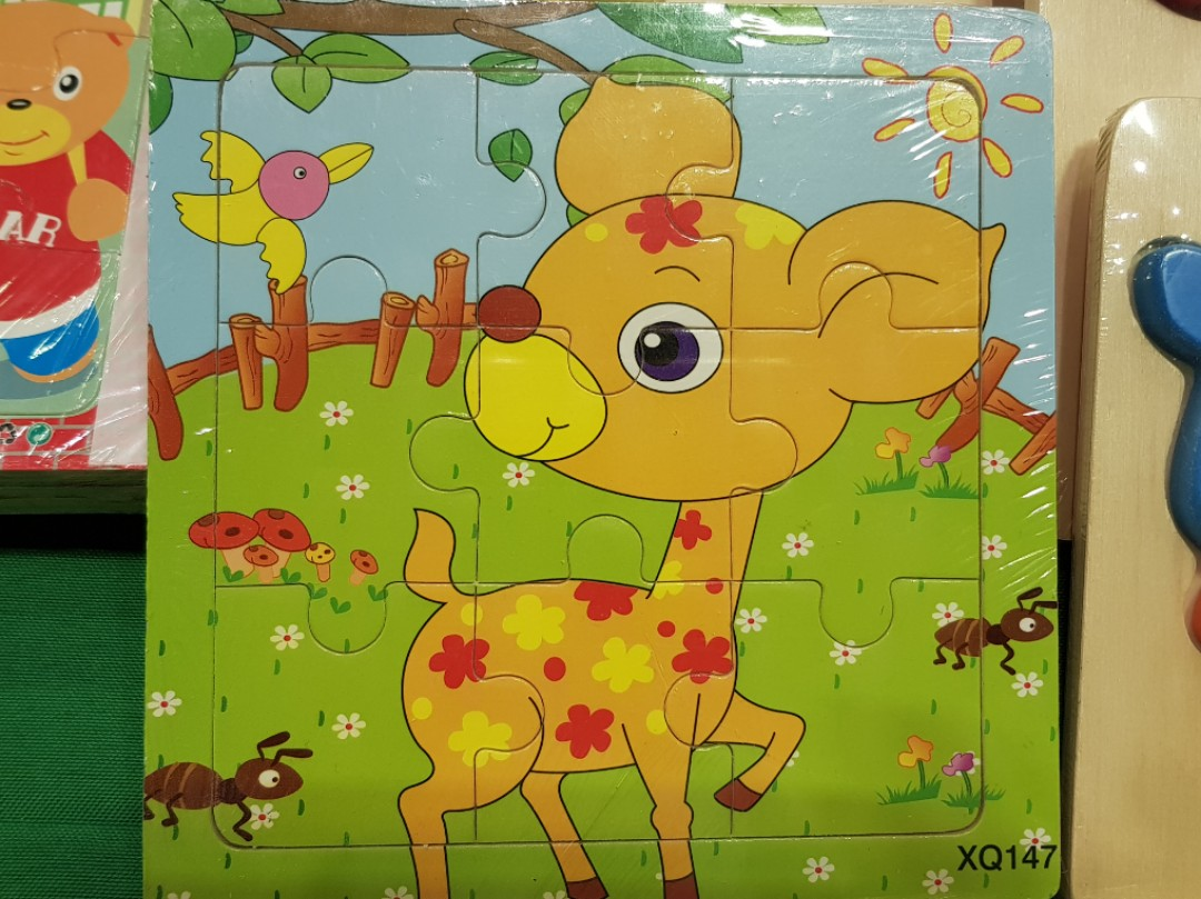 Wooden 2d Puzzle 6 Type To Choose