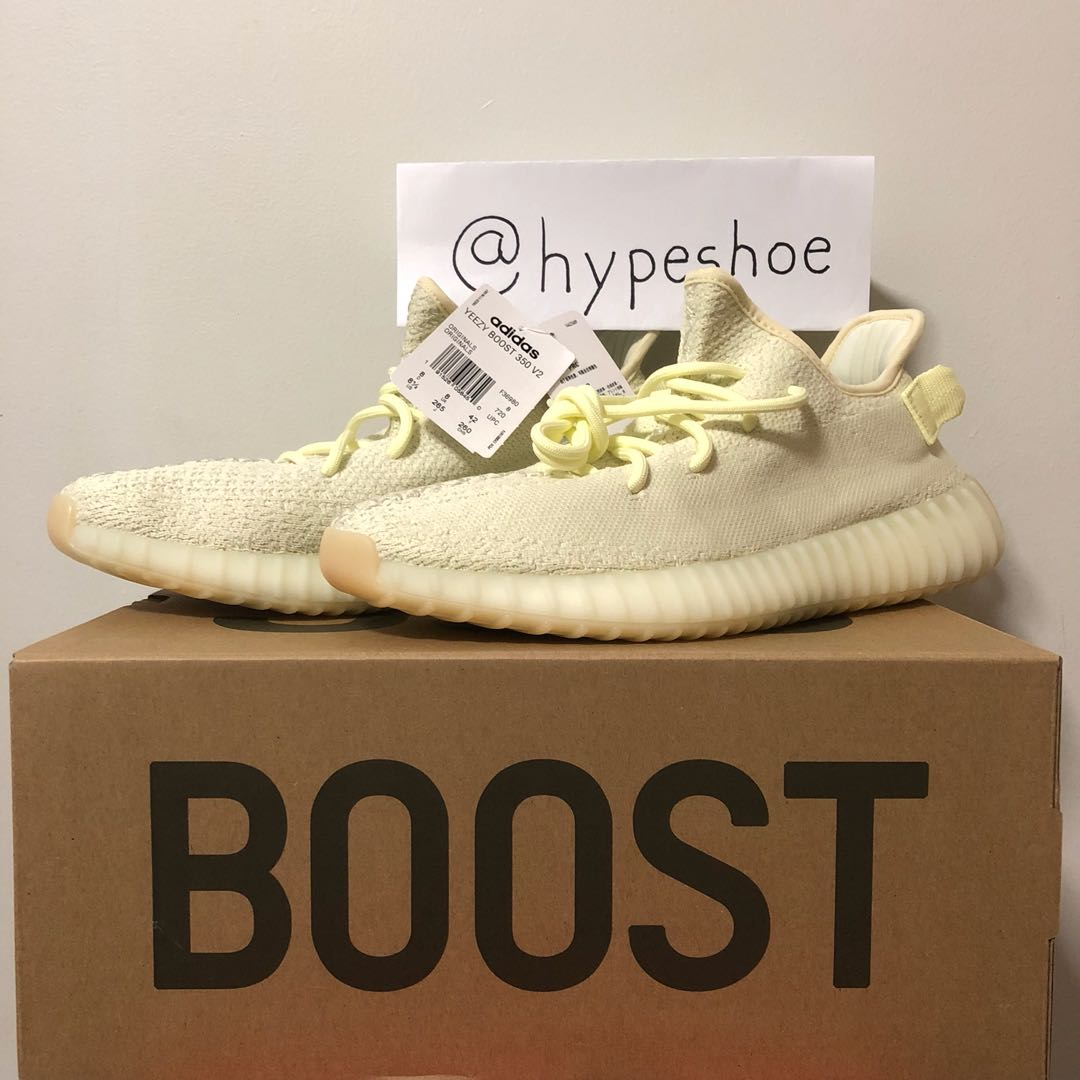 02fa3ac50 WTS US 8.5 UK 8 YEEZY BOOST 350 V2 BUTTER