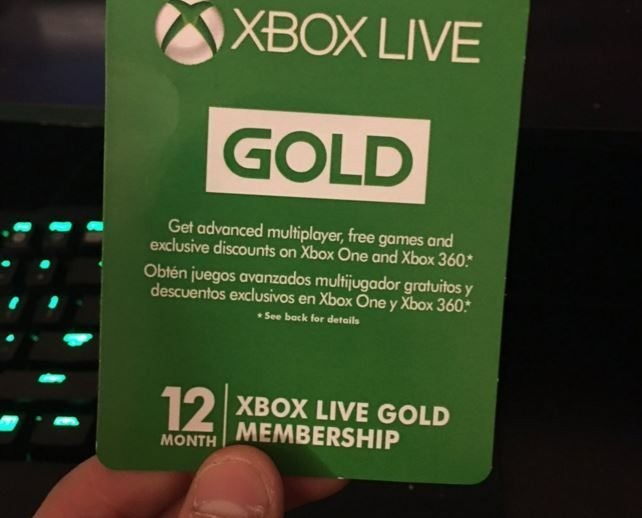 Xbox Live Gold 12 Months Membership (3 Left), Toys & Games