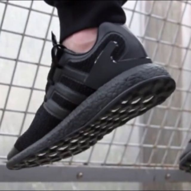 e774db7c7339 Y-3 x Adidas Pure Boost Triple Black SZ SKU CP9890