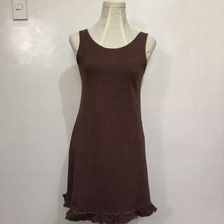 Bayo Brown Dress