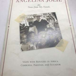 Notes from my travel by angelina Jolie
