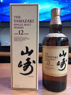 (全新)- 山崎12年威士忌