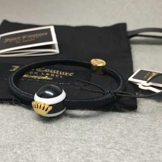 Juicy Couture Sample Bracelets Hair Band 黑色配白色波波頭飾可做手鍊