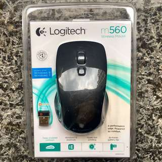 Logitech m560 Wireless Mouse *brand-new*