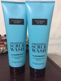 (Buy 1 Take 1!!) AUTHENTIC Victoria's Secret Smoothing Scrub Wash (Cloudberry)