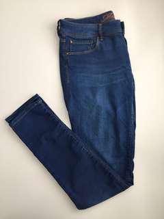 Mavi Blue Denim Skinny Jeans