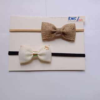 Simple Bow Headband