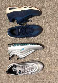Nike Airmax 97's & 95's