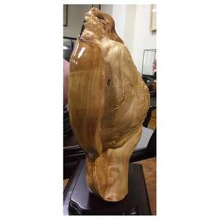 B007 木雕 樹瘤 高47x寬38x厚18cm (3)