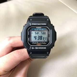 Casio G-Shock G-5600E-1 男裝 膠手錶
