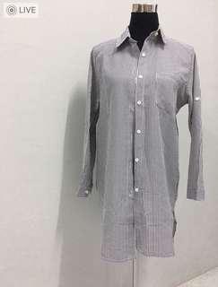 🆕 Stripe Long-Sleeve Blouse