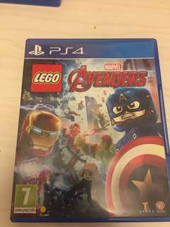 PS4 Avengers Lego game