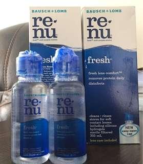 Renu fresh multi-purpose solution 洗con 水