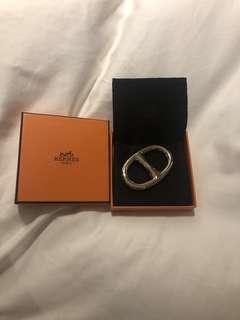 Hermès scarf ring