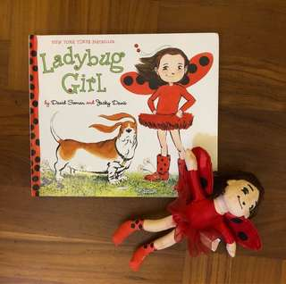 Ladybug Girl book and toy set - New York TimesBedtseller