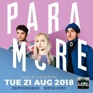 Paramore Early Bird + Priority Ticket