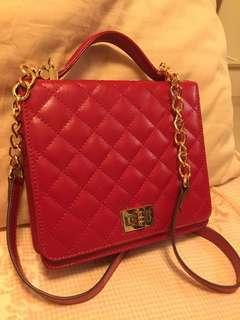 Japanese leather small shoulder bag