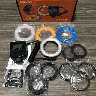 **40% OFF** LED Ring Flash RF550 Series