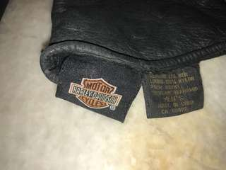 Harley Davidson Men Leather Glove
