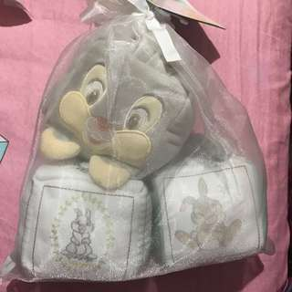 Disney Thumper soft blocks