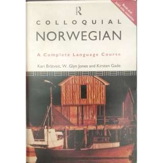 COLLOQUIAL NORWEGIAN - THEMATIC GRAMMAR BOOK & TWO 60 mins CASSETTES BY ROUTLEDGE