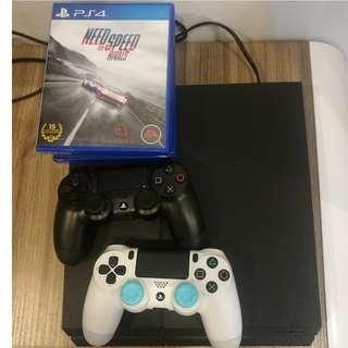 PS4 Slim Type 500 GB (9.5/10 condition)