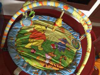 Baby playmat winnie the pooh
