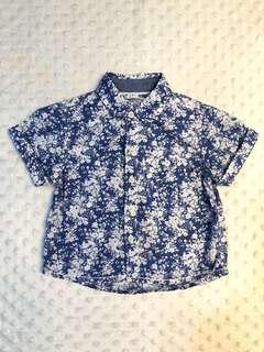 Gingersnaps Floral Shirt