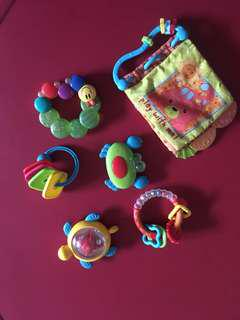 Baby teether and toys mothercare