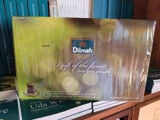 Dilmah禮盒裝,80個獨立包裝茶包,8種味