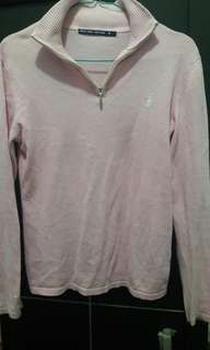 Sweater polo soft pink