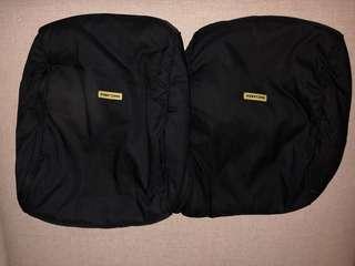 Maclaren twin stroller foot warmers