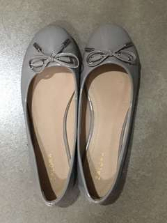 Zalora flat shoes (gray)