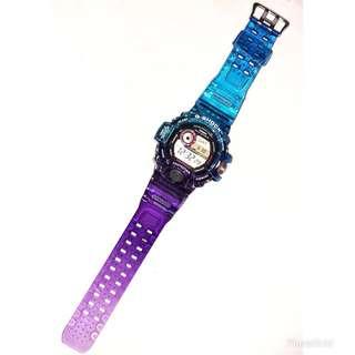 訂造 Casio G-shock GW-9400 代用 藍紫 錶帶 錶殼 (非原廠)(strap only)