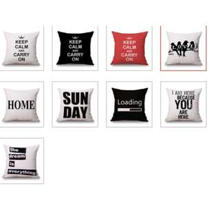 Preorder - Typography / Merry Christmas Cushion Covers