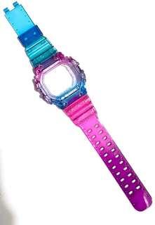 現貨 Casio G-shock Gx-56/Gxw-56 桃紅紫藍 撞色 代用錶帶錶殻 (非原廠)(strap only)