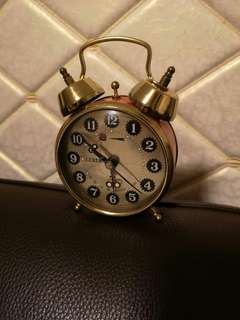 珍藏上海鑽石牌上鍊鬧鐘