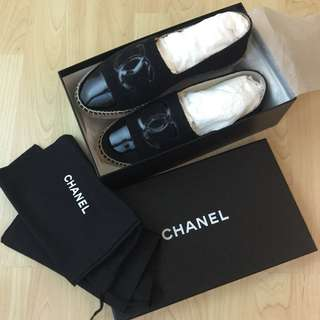 Chanel 草鞋 漁夫鞋 size 40