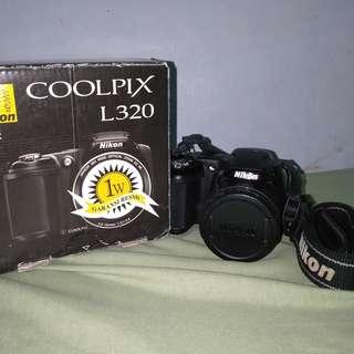 NIKON COOLPIX L320 PRELOVED / BEKAS