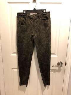 Zara Army skinny jeans