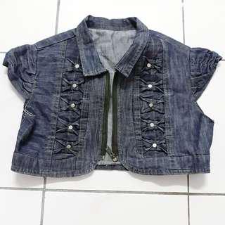 🆕️Denim Crop Jacket