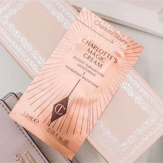 💚 Charlotte tilbury • charlotte's magic cream instant turn around moisturizer sample • add on
